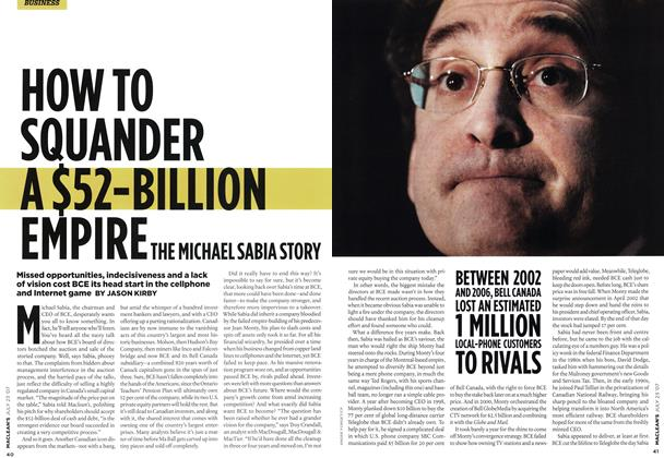 Article Preview: HOW TO SQUANDER A$52-BILLION EMPIRE, JUL. 23rd 2007 2007 | Maclean's