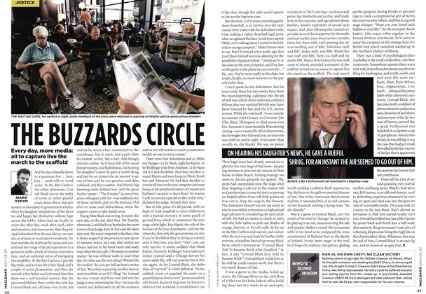 Article Preview: THE BUZZARDS CIRCLE, JUL. 23rd 2007 2007 | Maclean's