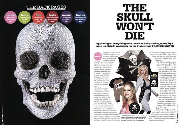 Article Preview: THE SKULL WON'T DIE, JUL. 23rd 2007 2007 | Maclean's