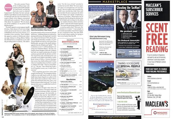 Article Preview: MACLEAN'S BESTSELLERS, JUL. 23rd 2007 2007 | Maclean's