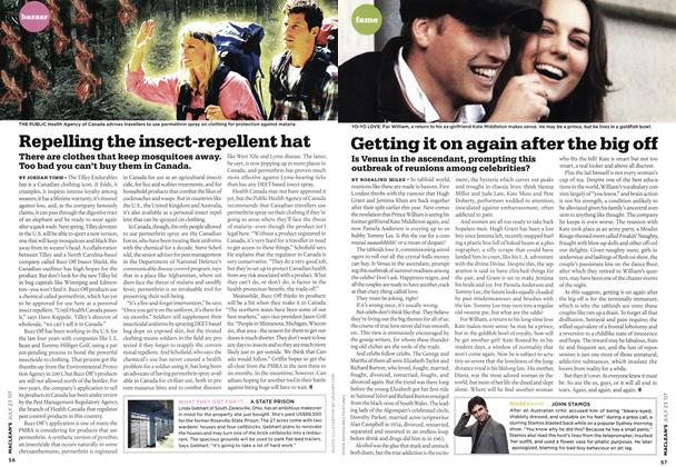 Article Preview: Getting it on again after the big off, JUL. 23rd 2007 2007 | Maclean's