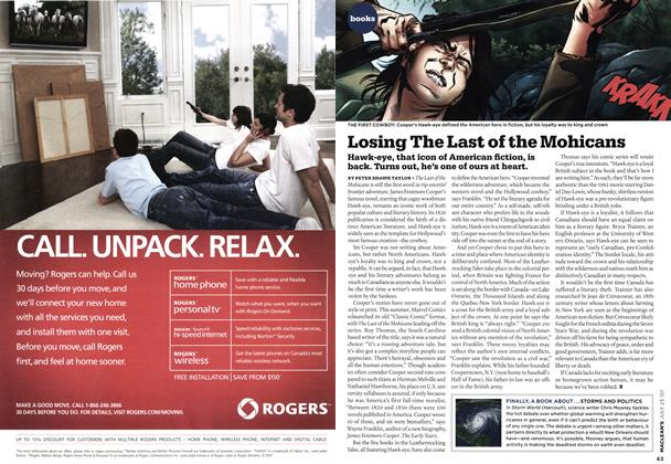 Article Preview: Losing The Last of the Mohicans, JUL. 23rd 2007 2007 | Maclean's