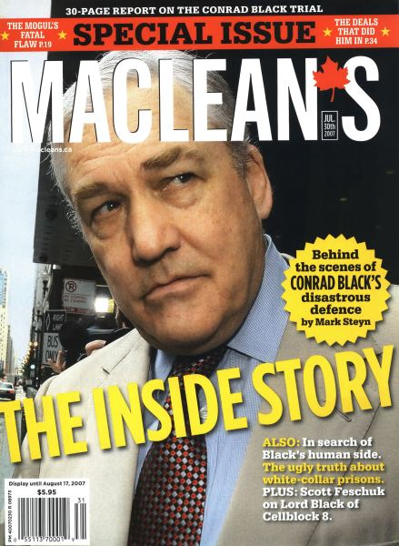 Issue: - JUL. 30th 2007 | Maclean's