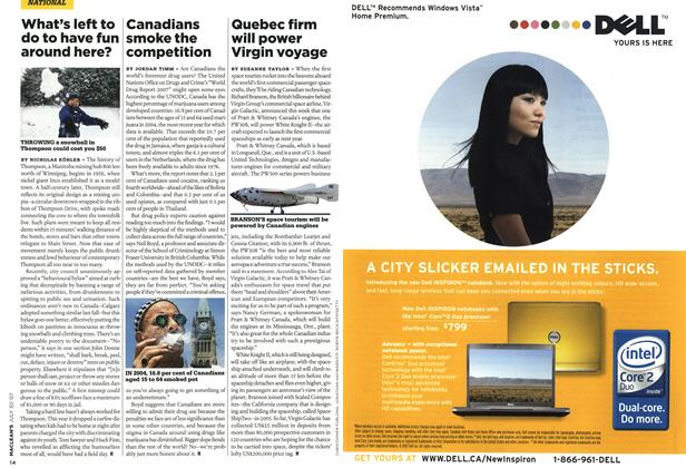 Article Preview: Canadians smoke the competition, JUL. 30th 2007 2007 | Maclean's