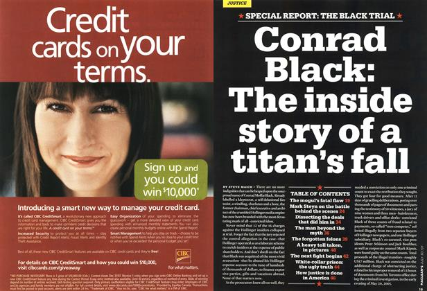 Article Preview: Conrad Black: The inside story of a titan's fall, JUL. 30th 2007 2007 | Maclean's