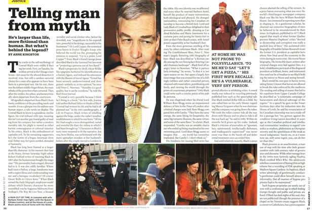 Article Preview: Telling man from myth, JUL. 30th 2007 2007 | Maclean's