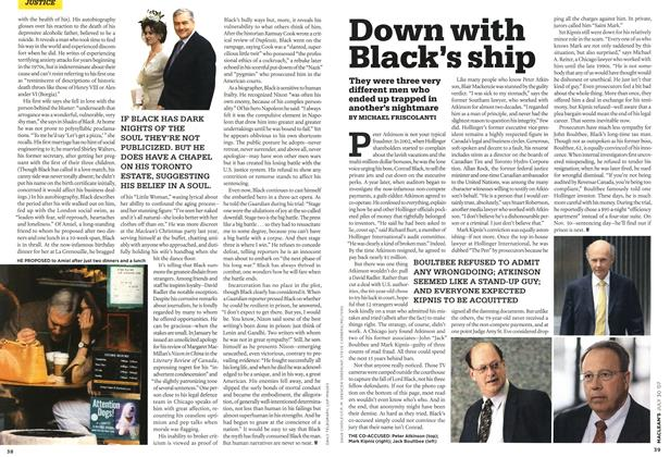 Article Preview: Down with Black's ship, JUL. 30th 2007 2007 | Maclean's