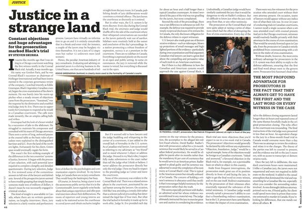 Article Preview: Justice in a strange land, JUL. 30th 2007 2007 | Maclean's