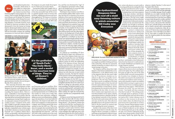 Article Preview: MACLEAN'S BESTSELLERS, JUL. 30th 2007 2007 | Maclean's