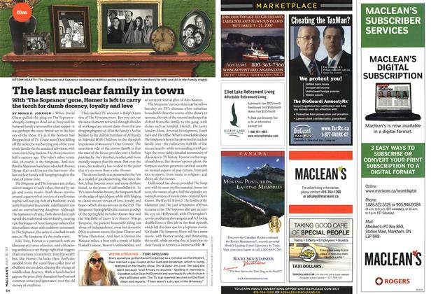Article Preview: The last nuclear family in town, JUL. 30th 2007 2007 | Maclean's