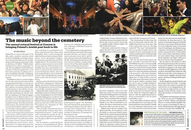 Article Preview: The music beyond the cemetery, JUL. 30th 2007 2007 | Maclean's