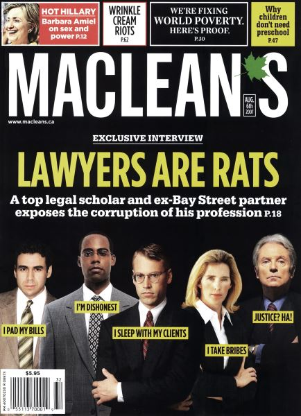 Issue: - AUG. 6th 2007 | Maclean's