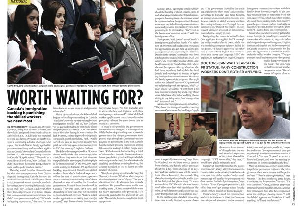 Article Preview: WORTH WAITING FOR?, AUG. 6th 2007 2007 | Maclean's