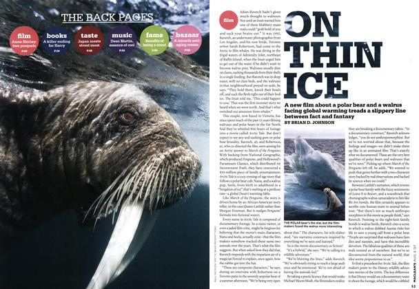 Article Preview: ON THIN ICE, AUG. 6th 2007 2007 | Maclean's
