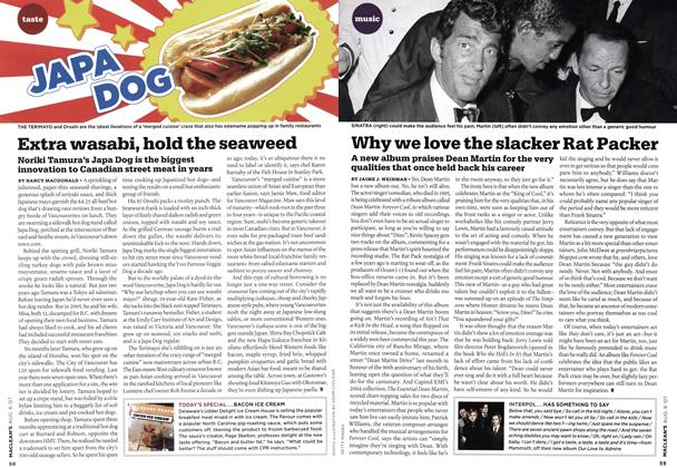 Article Preview: Why we love the slacker Rat Packer, AUG. 6th 2007 2007 | Maclean's