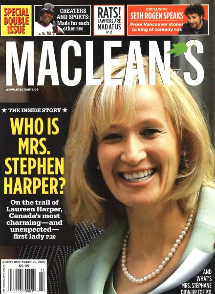 Issue: - AUG. 13th 2007 | Maclean's