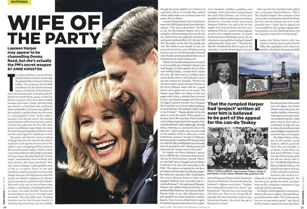 Article Preview: WIFE OF THE PARTY, AUG. 13th 2007 2007 | Maclean's