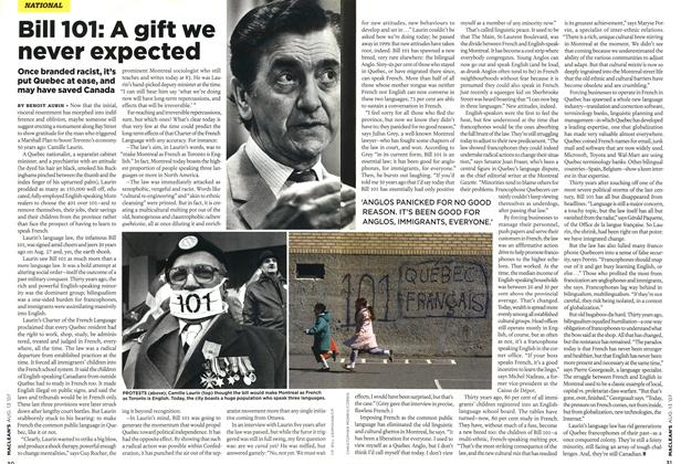 Article Preview: Bill 101: A gift we never expected, AUG. 13th 2007 2007 | Maclean's