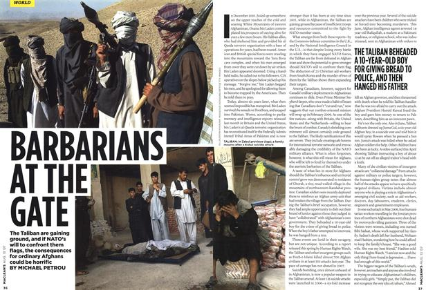 Article Preview: BARBARIANS AT THE GATE, AUG. 13th 2007 2007 | Maclean's