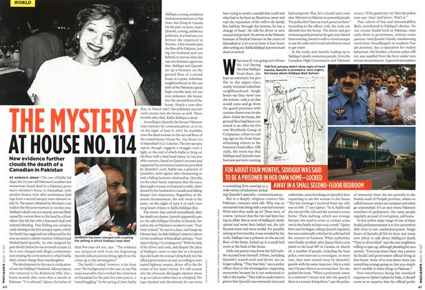 Article Preview: THE MYSTERY AT HOUSE NO. 114, AUG. 13th 2007 2007 | Maclean's