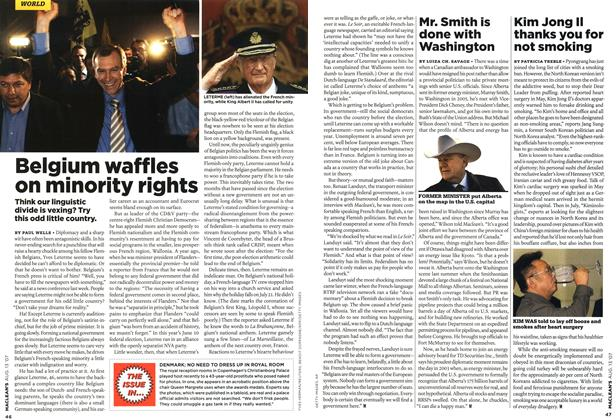 Article Preview: Mr. Smith is done with Washington, AUG. 13th 2007 2007 | Maclean's