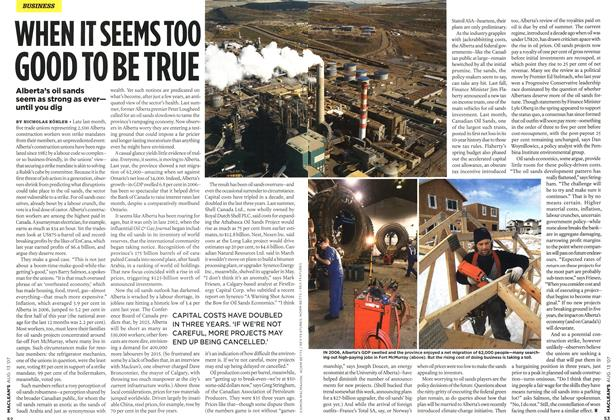 Article Preview: WHEN IT SEEMS TOO GOOD TO BE TRUE, AUG. 13th 2007 2007 | Maclean's