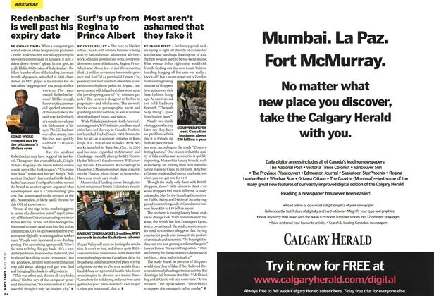 Article Preview: Most aren't ashamed that they fake it, AUG. 13th 2007 2007   Maclean's