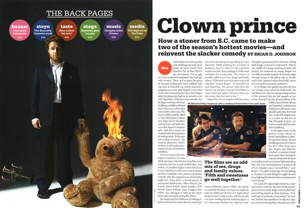 Article Preview: Clown prince, AUG. 13th 2007 2007 | Maclean's