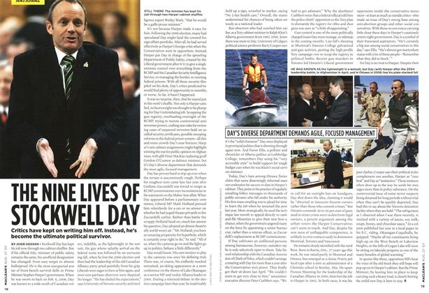 Article Preview: THE NINE LIVES OF STOCKWELL DAY, AUG. 27th 2007 2007 | Maclean's