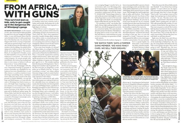 Article Preview: FROM AFRICA, WITH GUNS, AUG. 27th 2007 2007 | Maclean's