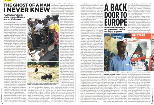 Article Preview: A BACK DOOR TO EUROPE, AUG. 27th 2007 2007 | Maclean's