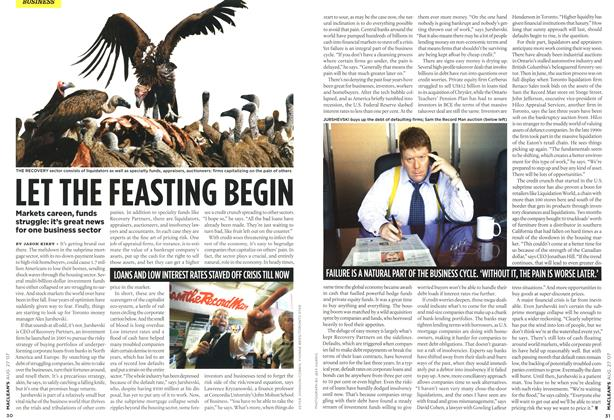 Article Preview: LET THE FEASTING BEGIN, AUG. 27th 2007 2007 | Maclean's