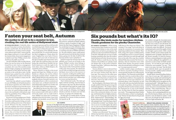 Article Preview: Fasten your seat belt, Autumn, AUG. 27th 2007 2007 | Maclean's