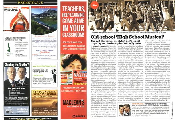 Article Preview: Old-school 'High School Musical', AUG. 27th 2007 2007 | Maclean's