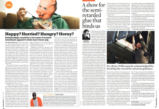 Article Preview: Happy? Hurried? Hungry? Horny?, AUG. 27th 2007 2007 | Maclean's