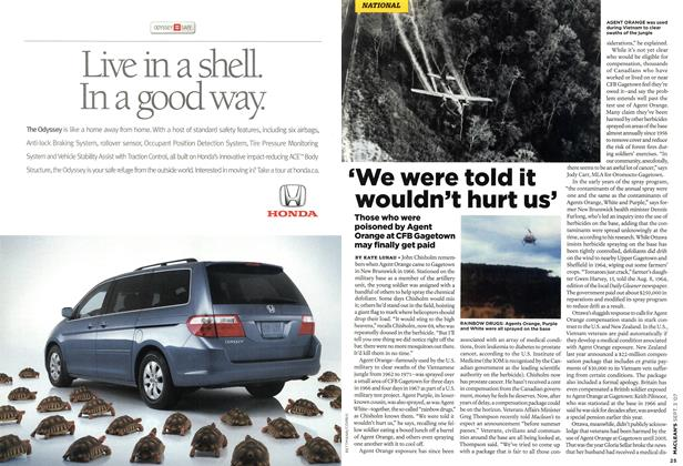 Article Preview: 'We were told it wouldn't hurt us', SEPT. 3rd 2007 2007 | Maclean's