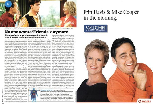 Article Preview: No one wants 'Friends' anymore, SEPT. 3rd 2007 2007 | Maclean's