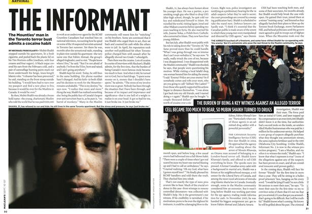 Article Preview: THE INFORMANT, SEPT. 10th 2007 2007 | Maclean's