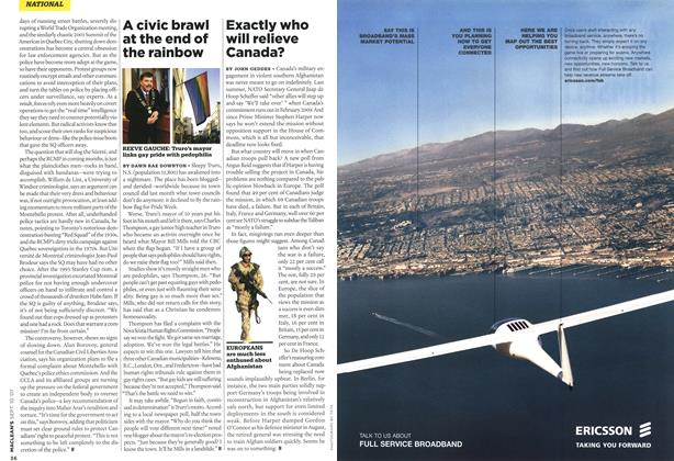 Article Preview: A civic brawl at the end of the rainbow, SEPT. 10th 2007 2007 | Maclean's