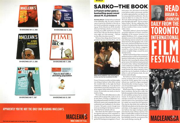 Article Preview: SARKO—THE BOOK, SEPT. 10th 2007 2007 | Maclean's