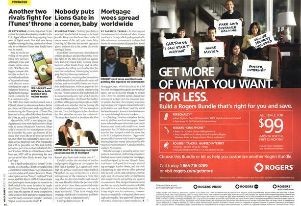 Article Preview: Mortgage woes spread worldwide, SEPT. 10th 2007 2007 | Maclean's