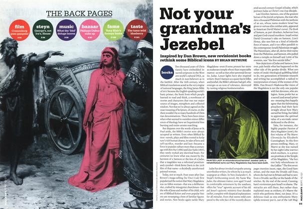 Article Preview: Not your grandma's Jezebel, SEPT. 10th 2007 2007 | Maclean's