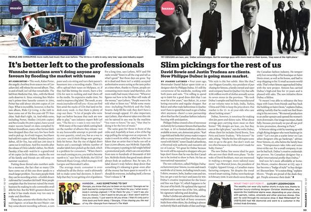Article Preview: It's better left to the professionals, SEPT. 10th 2007 2007 | Maclean's