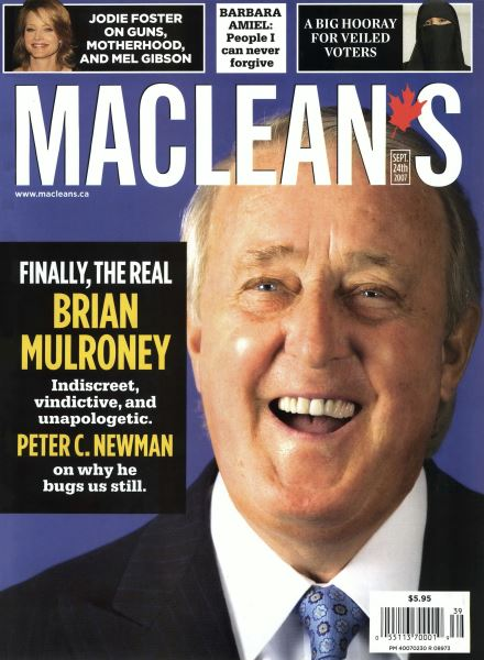 Issue: - SEPT. 24th 2007 | Maclean's