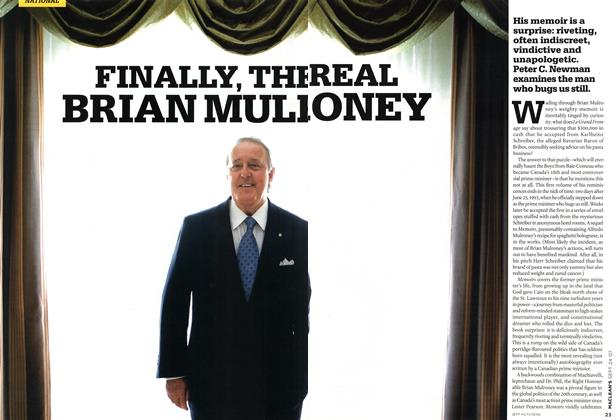 Article Preview: FINALLY, THE REAL BRIAN MULRONEY, SEPT. 24th 2007 2007 | Maclean's