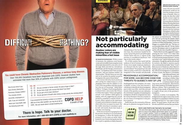 Article Preview: Not particularly accommodating, SEPT. 24th 2007 2007 | Maclean's