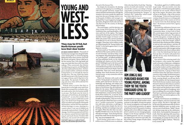 Article Preview: YOUNG AND WESTLESS, SEPT. 24th 2007 2007 | Maclean's