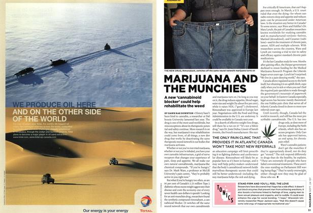 Article Preview: MARIJUANA AND THE MUNCHIES, SEPT. 24th 2007 2007 | Maclean's