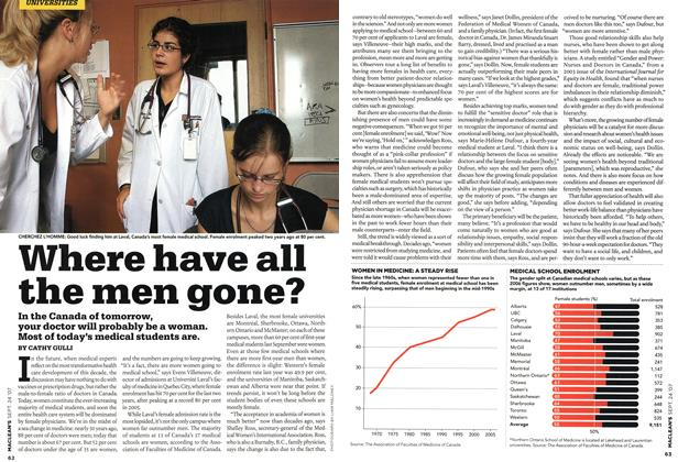 Article Preview: Where have all the men gone?, SEPT. 24th 2007 2007 | Maclean's