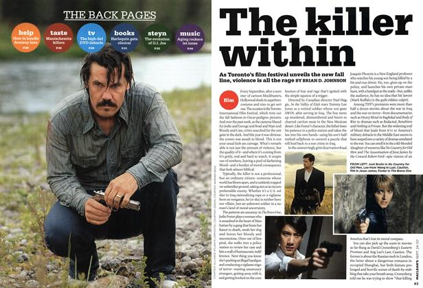 Article Preview: The killer within, SEPT. 24th 2007 2007 | Maclean's